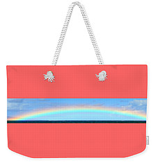 Full Rainbow Weekender Tote Bag