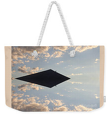 Weekender Tote Bag featuring the photograph Full Steam Ahead by Christina Verdgeline