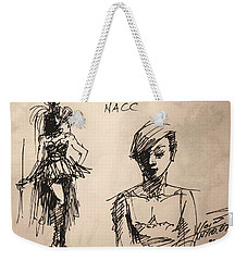 Fun At Art Of Fashion At Nacc 1 Weekender Tote Bag