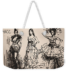 Fun At Art Of Fashion At Nacc 3 Weekender Tote Bag