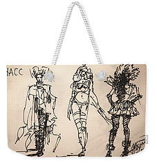 Fun At Art Of Fashion At Nacc Weekender Tote Bag