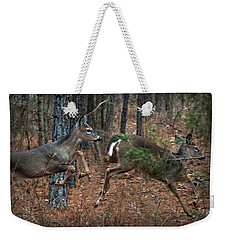 Fun In The Forest Weekender Tote Bag