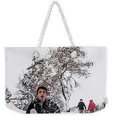Fun On Snow-2 Weekender Tote Bag