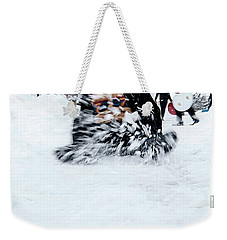 Fun On Snow-5 Weekender Tote Bag