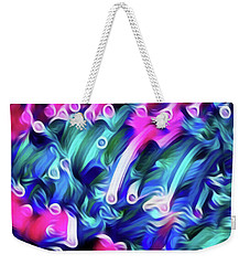 Fun Tubes  Weekender Tote Bag by Gayle Price Thomas