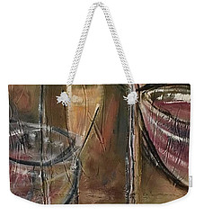 Fun Wine Glasses Weekender Tote Bag
