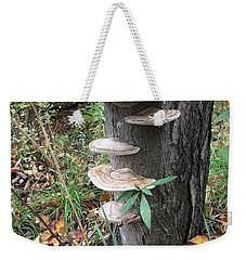 Fungi Weekender Tote Bag by Christine Lathrop