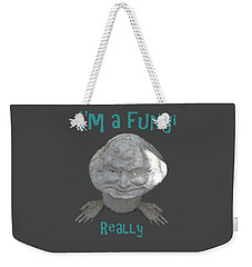 Fungi Weekender Tote Bag by David and Lynn Keller
