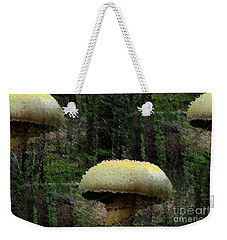 Fungi In The Woods Weekender Tote Bag by Natalie Ortiz