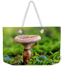 Weekender Tote Bag featuring the photograph Fungus  by Sharon Talson