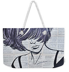 Funky And Free Weekender Tote Bag