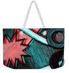 Funky Fanfare Weekender Tote Bag by Kyle West