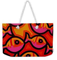 Funky Fish Iv Weekender Tote Bag