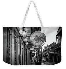 Funky Pirate In Black And White Weekender Tote Bag