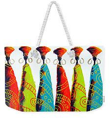 Funky Zulus Weekender Tote Bag