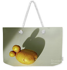 Funny Bunny Shadow Potato Weekender Tote Bag