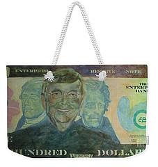 Funny Money Weekender Tote Bag