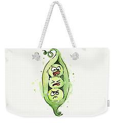 Funny Peas In A Pod Weekender Tote Bag