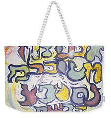 Funnzie Letters Weekender Tote Bag