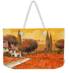 fuoco di Toscana Weekender Tote Bag by Guido Borelli