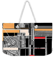Furnace 1 Weekender Tote Bag by Andrew Drozdowicz