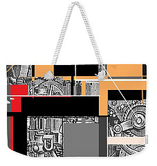 Furnace 2 Weekender Tote Bag by Andrew Drozdowicz