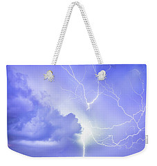 Fury Of The Storm Weekender Tote Bag