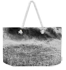 Weekender Tote Bag featuring the photograph Fury by Steven Huszar