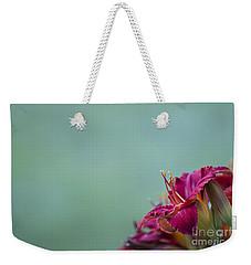 Fuchsia In Bloom Weekender Tote Bag