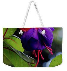 Fuschia Weekender Tote Bag