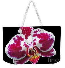 Fuschia Orchid Triplets Weekender Tote Bag