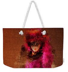 Fuschia Venice Weekender Tote Bag