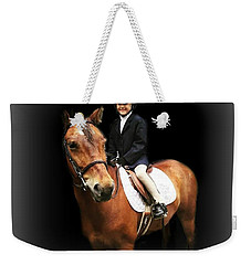 Future Horse Woman Weekender Tote Bag