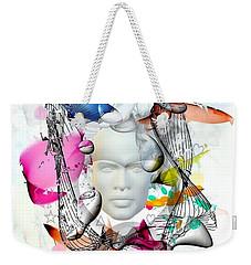 Future Of Life By Nico Bielow Weekender Tote Bag