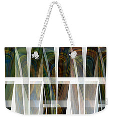 Future Towers Weekender Tote Bag by Thibault Toussaint