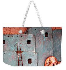 Futuristic Pueblo Weekender Tote Bag