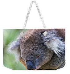 Fuzzy Weekender Tote Bag