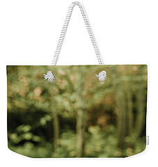 Weekender Tote Bag featuring the photograph Fuzzy Vision by Gene Garnace