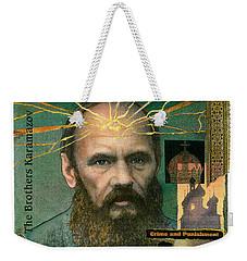 Fyodor Dostoevsky Weekender Tote Bag
