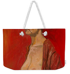 Gabrielle Standing Weekender Tote Bag by Ray Agius