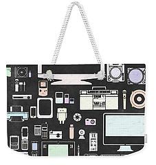 Gadgets Icon Weekender Tote Bag by Setsiri Silapasuwanchai