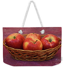 Gala Apple Basket Weekender Tote Bag