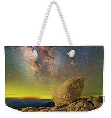 Galactic Erratic Weekender Tote Bag