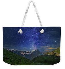Galactic Eruption Weekender Tote Bag