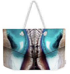 Galactic Rabbit Weekender Tote Bag