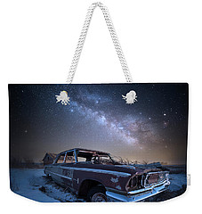 Galaxie 500 Weekender Tote Bag by Aaron J Groen