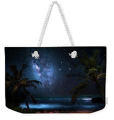 Galaxy Beach Weekender Tote Bag