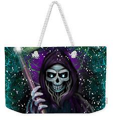 Galaxy Grim Reaper Fantasy Art Weekender Tote Bag