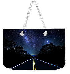 Weekender Tote Bag featuring the photograph Galaxy Highway by Mark Andrew Thomas
