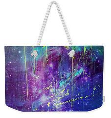 Galaxy In Motion Weekender Tote Bag